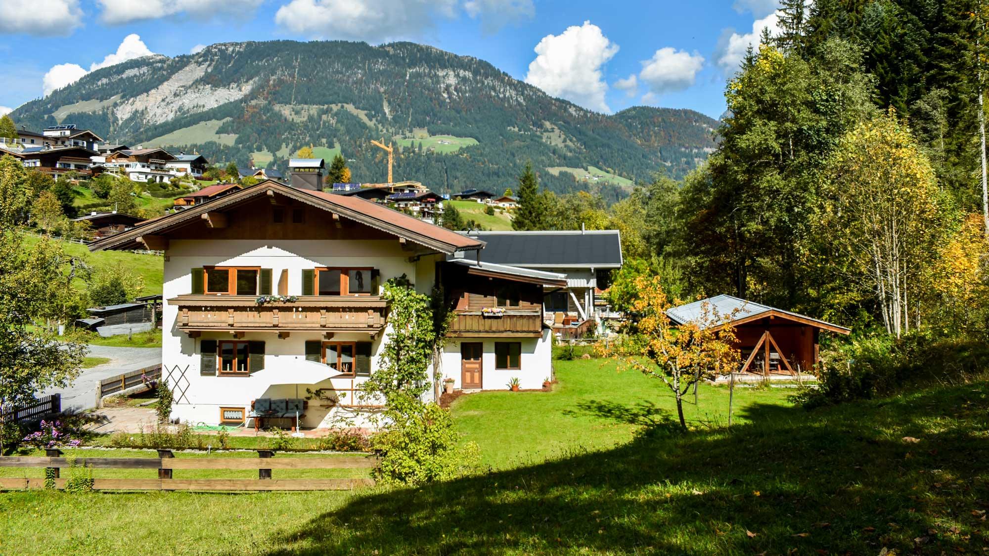 Ferienhaus am Gebraweg in Fieberbrunn (Tirol) - Urlaub in alpiner Idylle